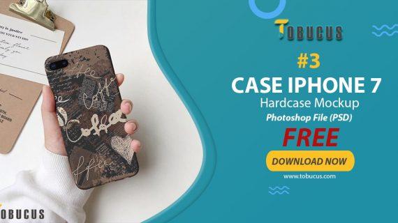 Gratis Mockup Case Iphone 7 – Hardcase
