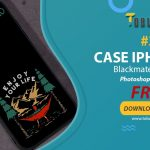 Free Mockup Blackmate Iphone 10 #2